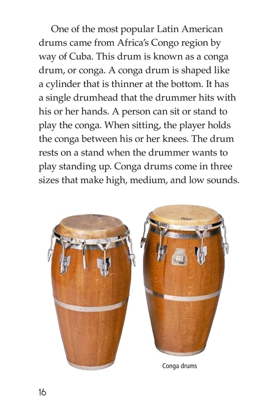 Book Preview For Drums and Drumming Page 16