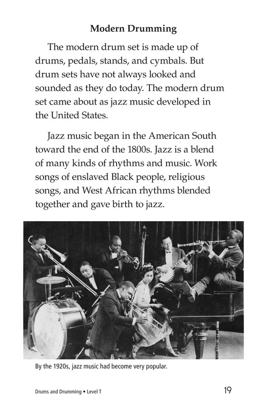 Book Preview For Drums and Drumming Page 19