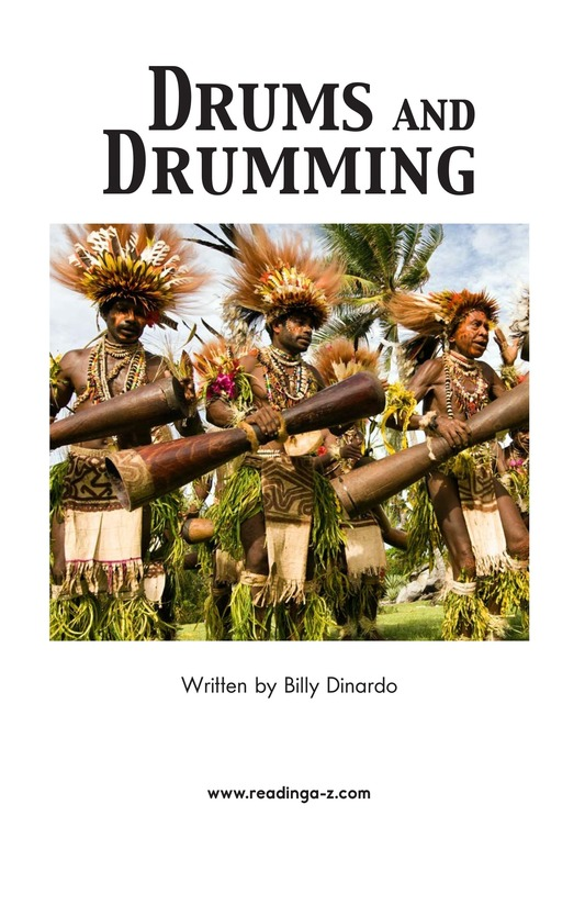 Book Preview For Drums and Drumming Page 2