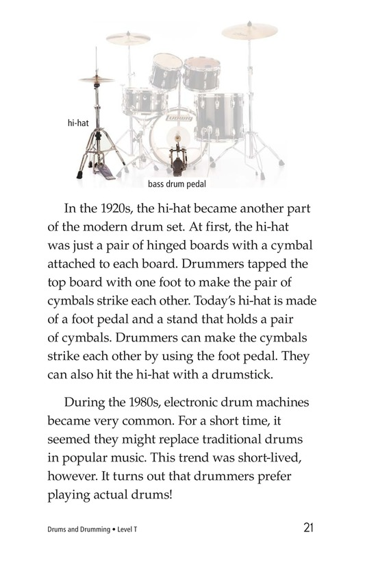 Book Preview For Drums and Drumming Page 21