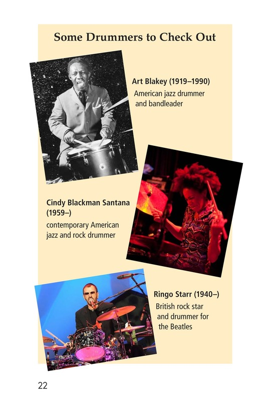 Book Preview For Drums and Drumming Page 22