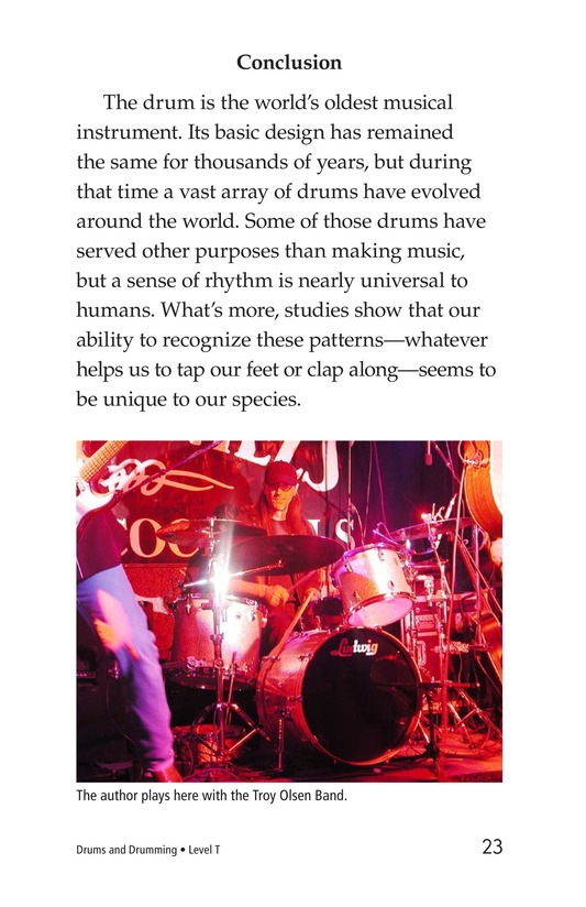 Book Preview For Drums and Drumming Page 23