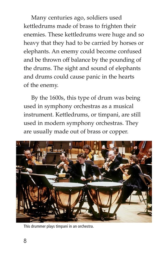 Book Preview For Drums and Drumming Page 8