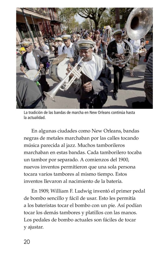 Book Preview For Drums and Drumming Page 20