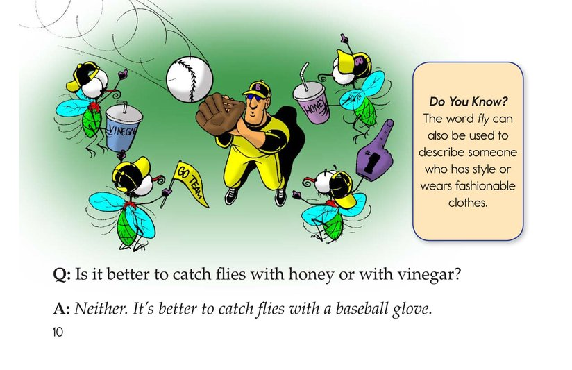 Book Preview For The Creepy, Crawly Book of Insect Riddles Page 10