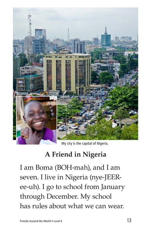 Book Preview For Friends Around the World Page 13