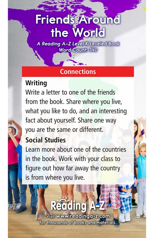 Book Preview For Friends Around the World Page 17