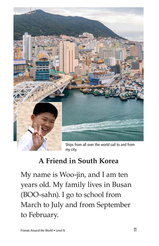 Book Preview For Friends Around the World Page 11
