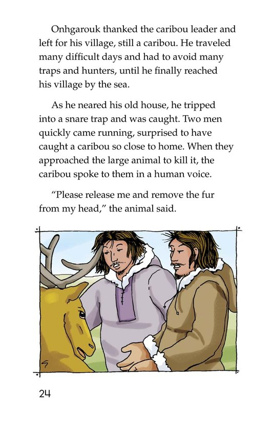 Book Preview For Caribou Man Page 24