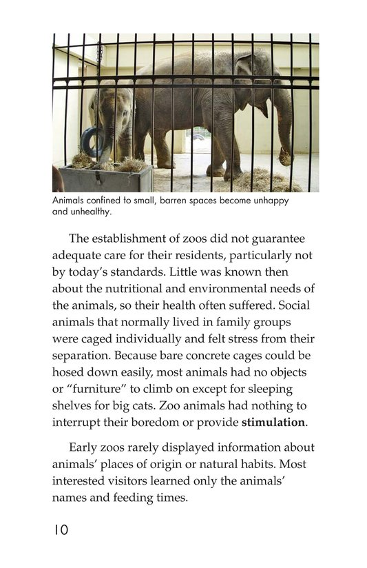 Book Preview For Zoos Through the Ages Page 10