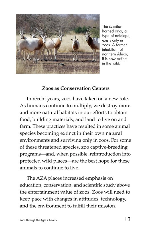 Book Preview For Zoos Through the Ages Page 13