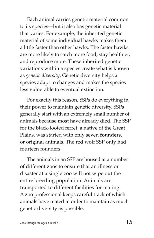 Book Preview For Zoos Through the Ages Page 15