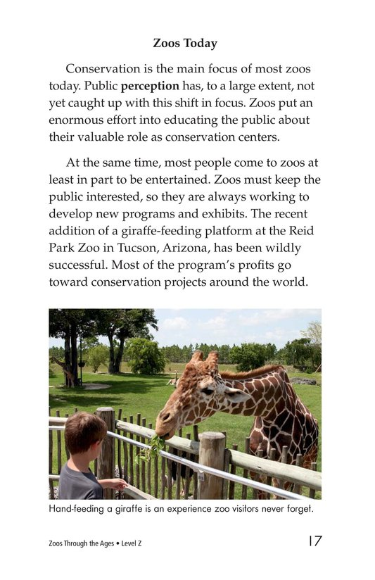 Book Preview For Zoos Through the Ages Page 17