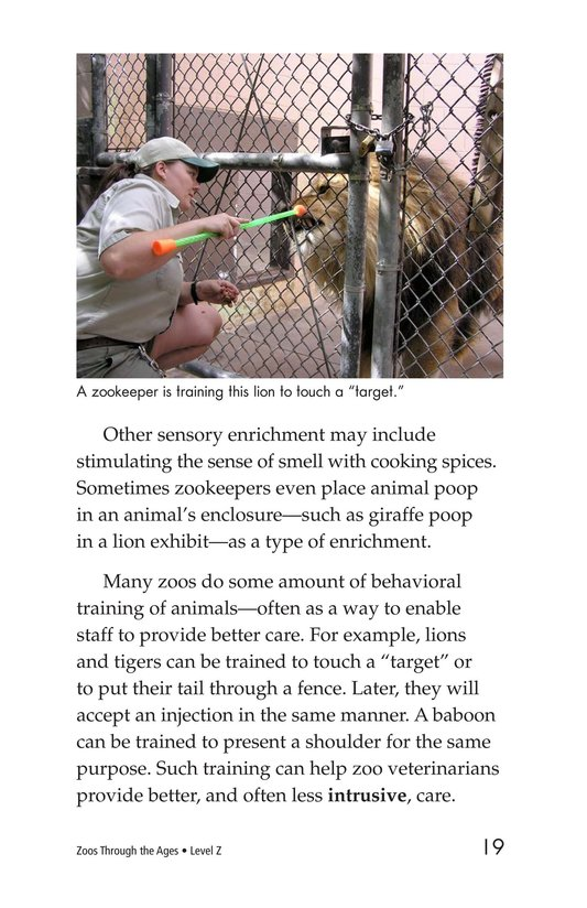 Book Preview For Zoos Through the Ages Page 19