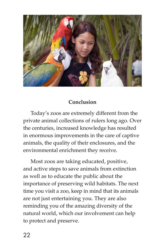 Book Preview For Zoos Through the Ages Page 22