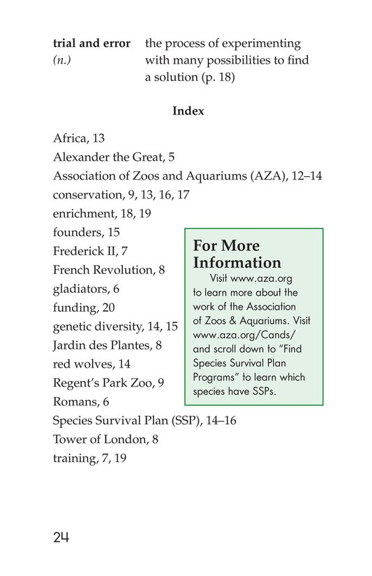 Book Preview For Zoos Through the Ages Page 24