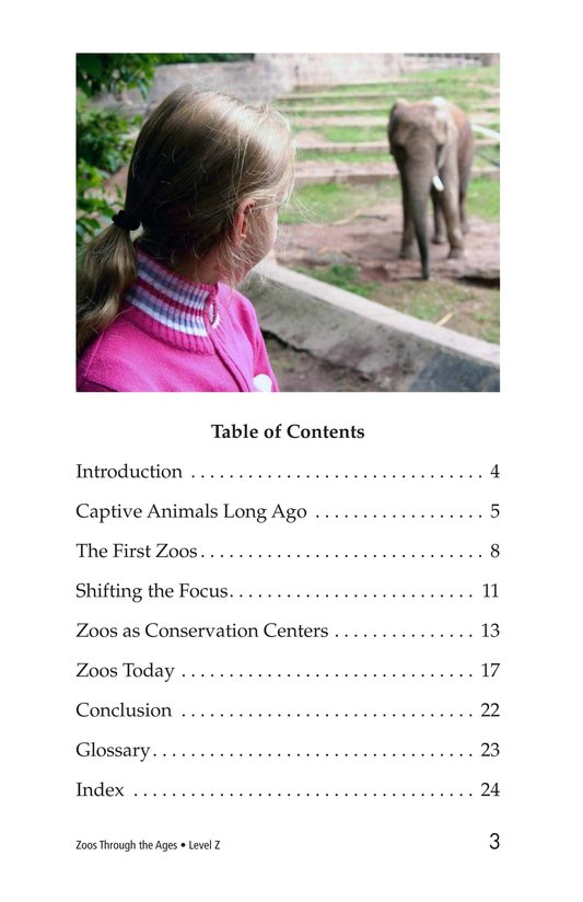 Book Preview For Zoos Through the Ages Page 3