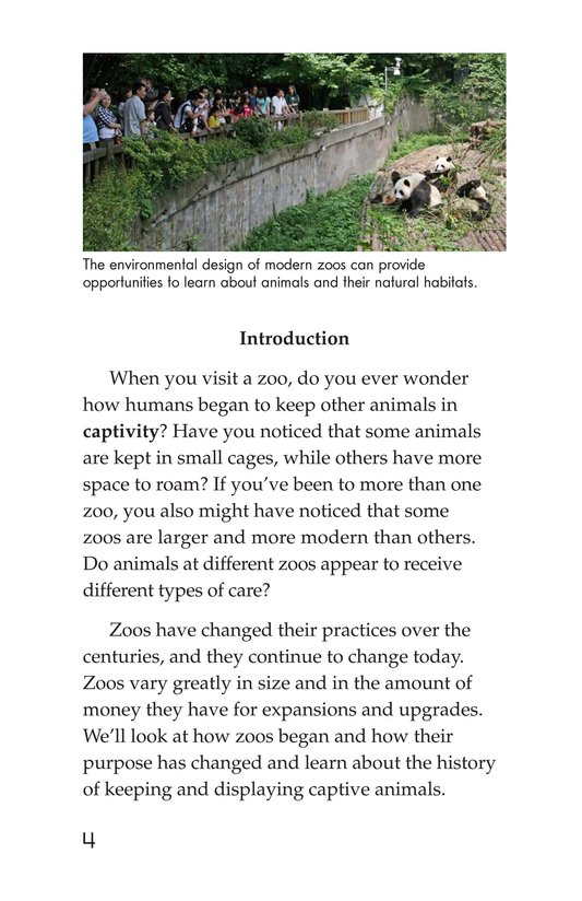 Book Preview For Zoos Through the Ages Page 4