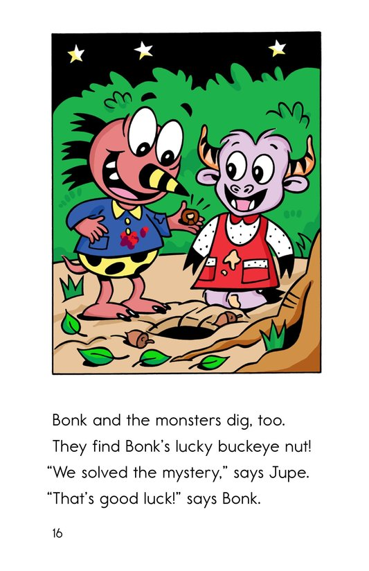 Book Preview For Bonk and the Lucky Buckeye Page 16