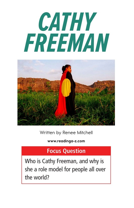 Book Preview For Cathy Freeman Page 1