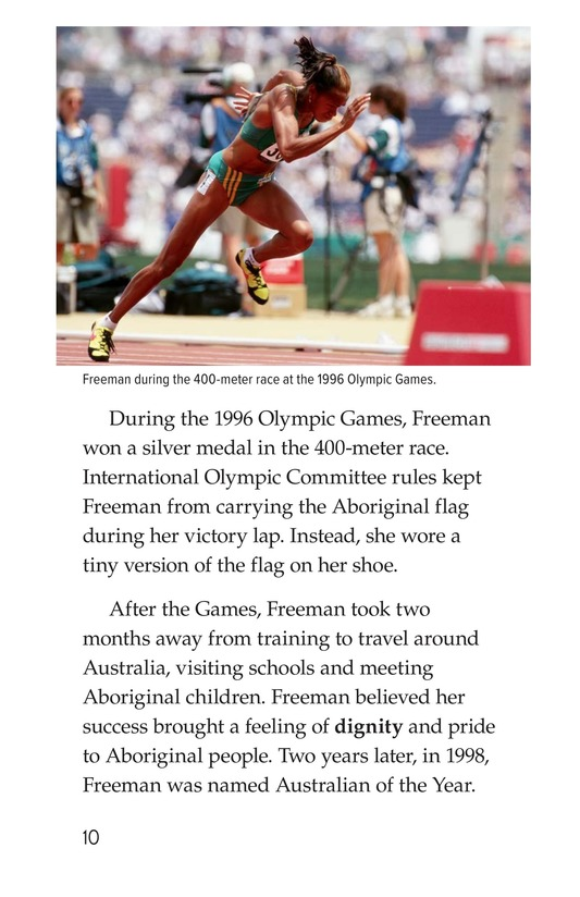 Book Preview For Cathy Freeman Page 10