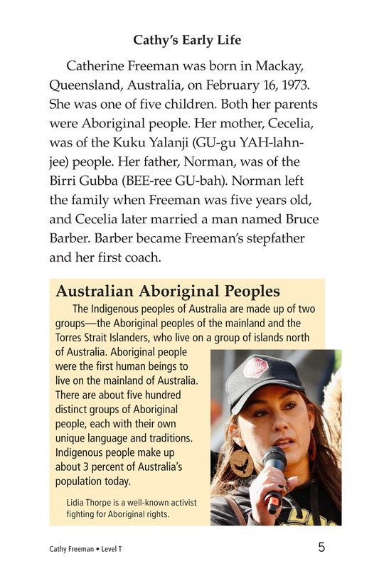 Book Preview For Cathy Freeman Page 5