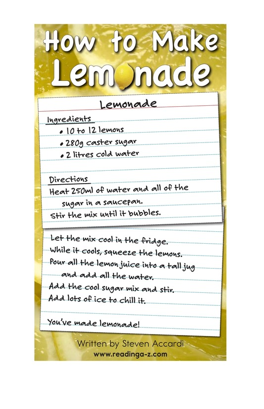 Book Preview For How to Make Lemonade Page 2