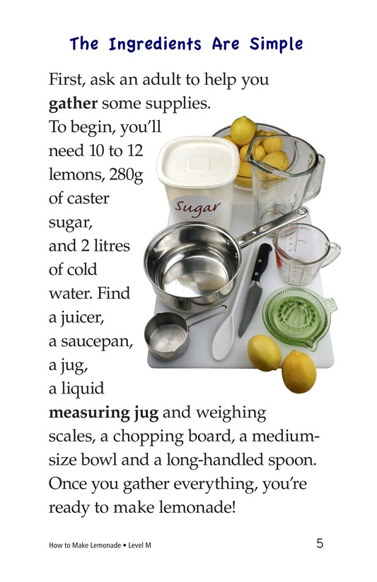 Book Preview For How to Make Lemonade Page 5