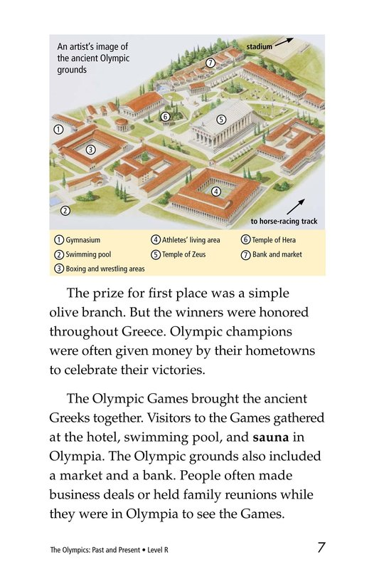Book Preview For The Olympics: Past and Present Page 7