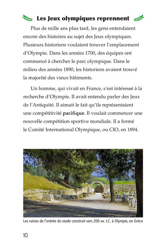 Book Preview For The Olympics: Past and Present Page 10