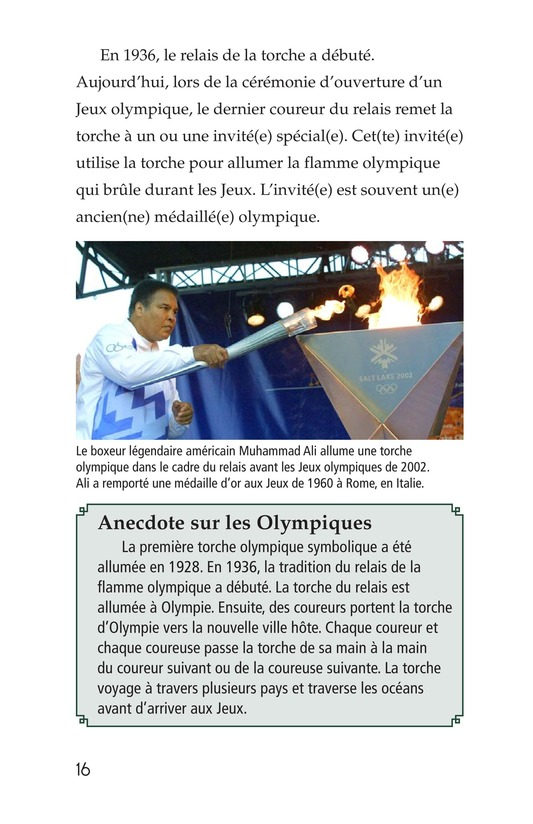 Book Preview For The Olympics: Past and Present Page 16
