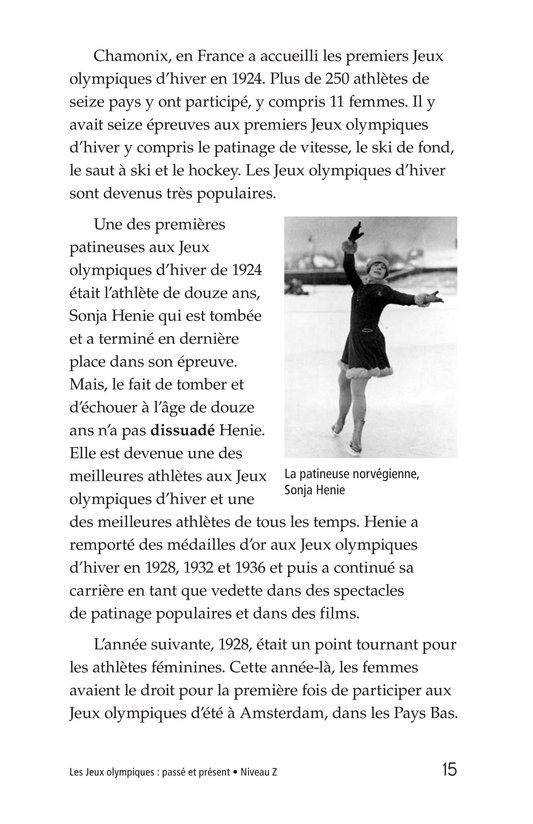 Book Preview For The Olympics: Past and Present Page 15