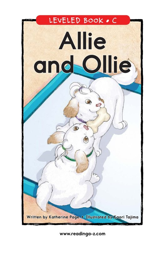 Book Preview For Allie and Ollie Page 1