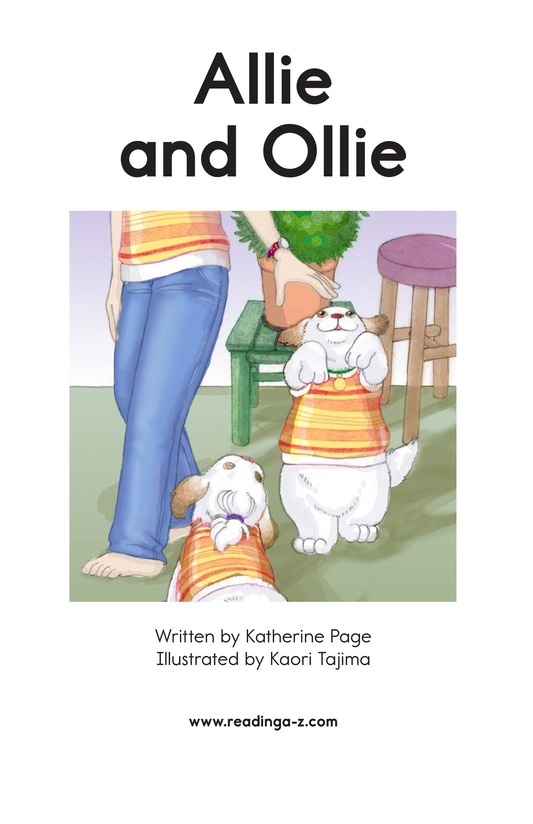 Book Preview For Allie and Ollie Page 2