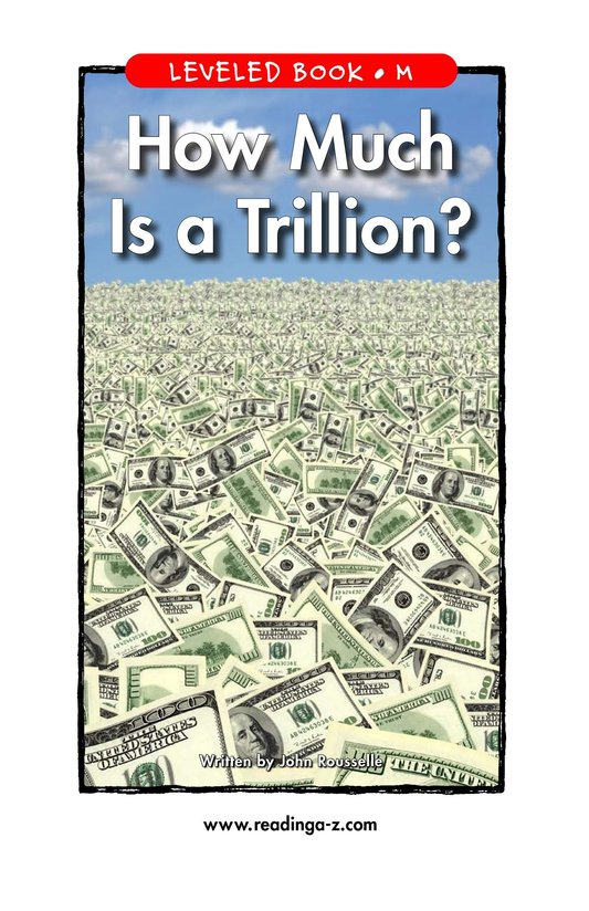 Book Preview For How Much Is a Trillion? Page 1