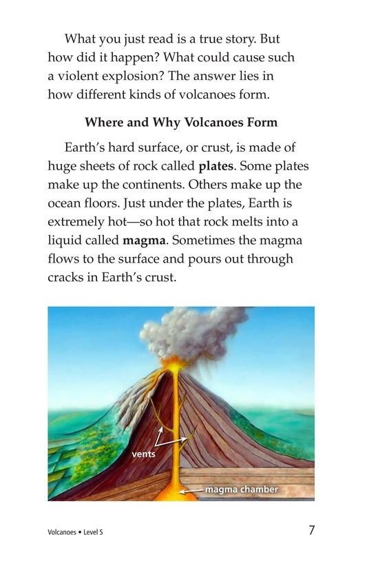 Book Preview For Volcanoes Page 7