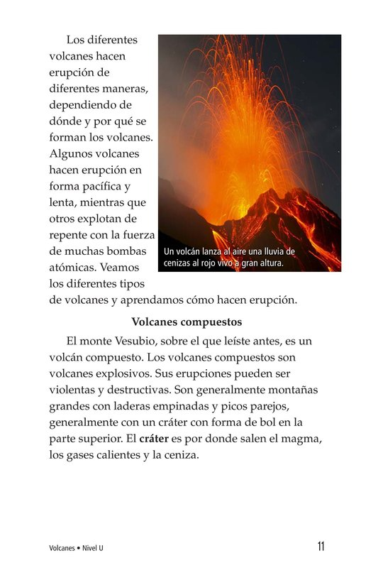 Book Preview For Volcanoes Page 11