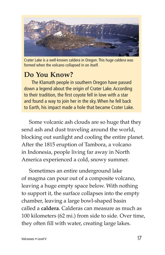Book Preview For Volcanoes Page 17