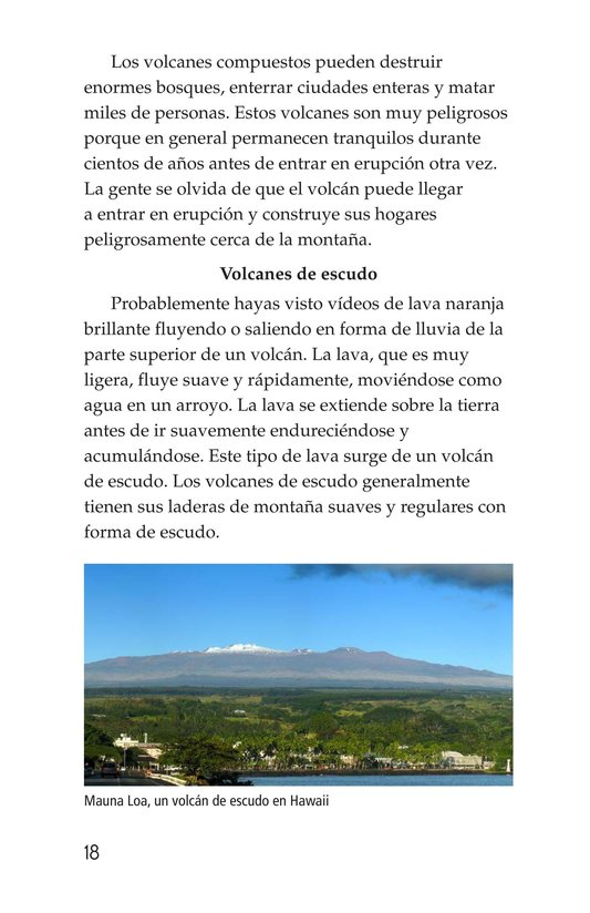 Book Preview For Volcanoes Page 18