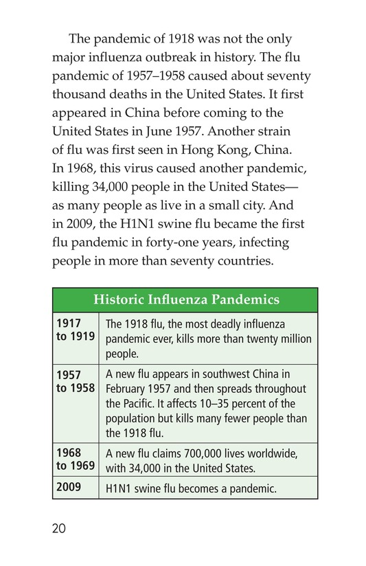 Book Preview For InFLUenza Page 20