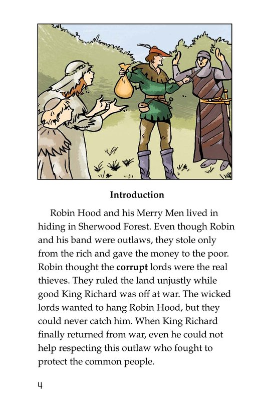 Book Preview For Robin Hood and the King Page 4