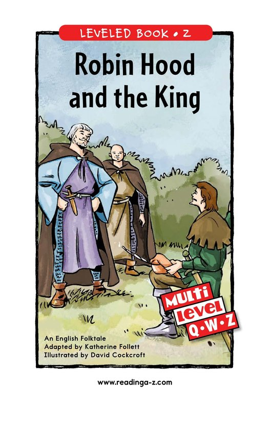 Book Preview For Robin Hood and the King Page 1