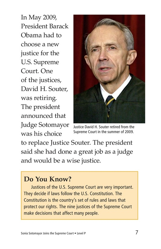 Book Preview For Sonia Joins the Supreme Court Page 7