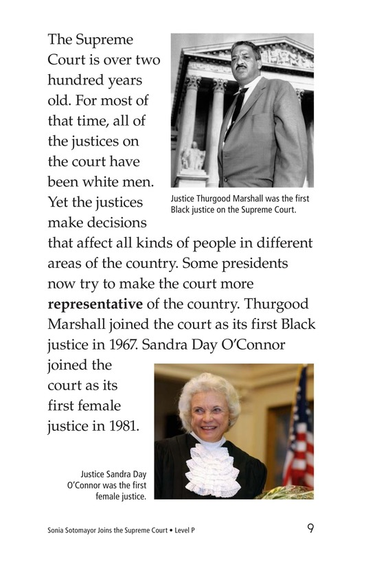 Book Preview For Sonia Joins the Supreme Court Page 9