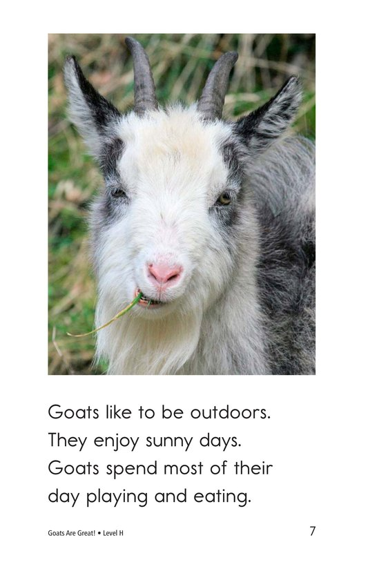 Book Preview For Goats Are Great! Page 7