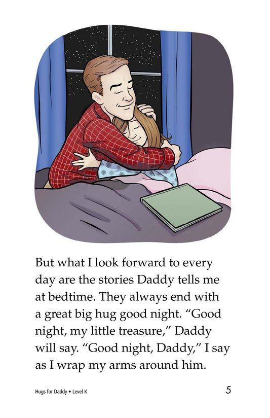 Book Preview For Hugs for Daddy Page 5