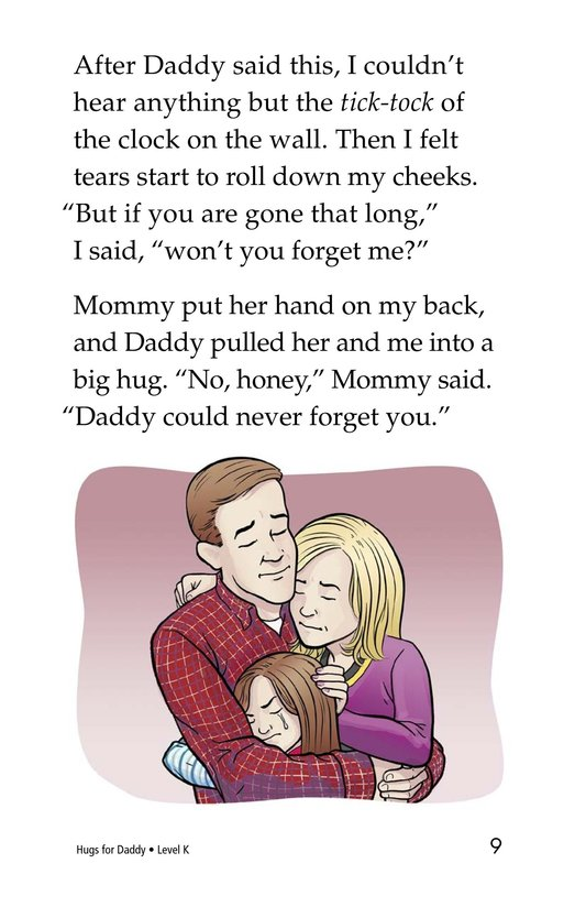 Book Preview For Hugs for Daddy Page 9