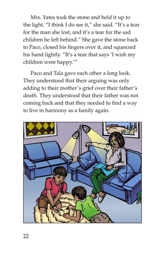 Book Preview For The Black Stones Page 22