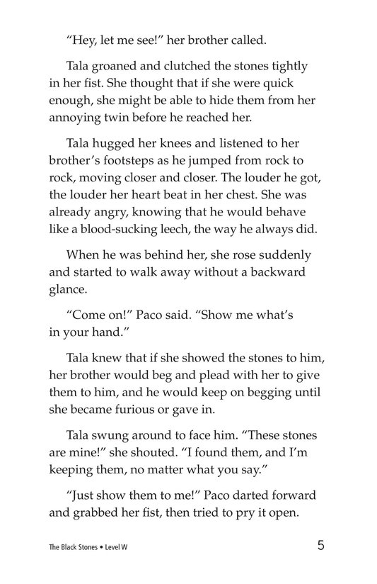 Book Preview For The Black Stones Page 5