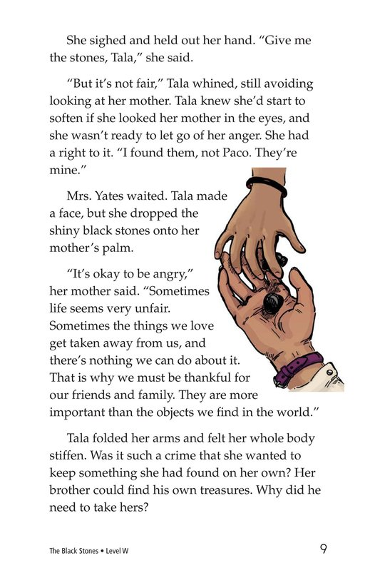 Book Preview For The Black Stones Page 9